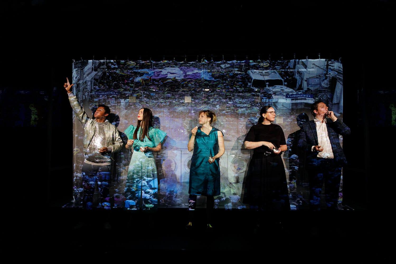 "Staatstheater Nürnberg Schauspiel ""I love you, Turkey!"" Von Ceren Ercan, Foto: Konrad Fersterer / Staatstheater Nürnberg"