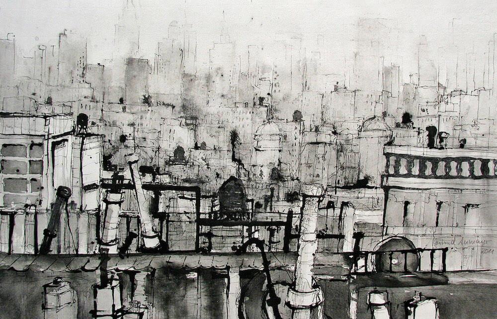 Dachlandschaft NY 02 © Gertrud Aumayr