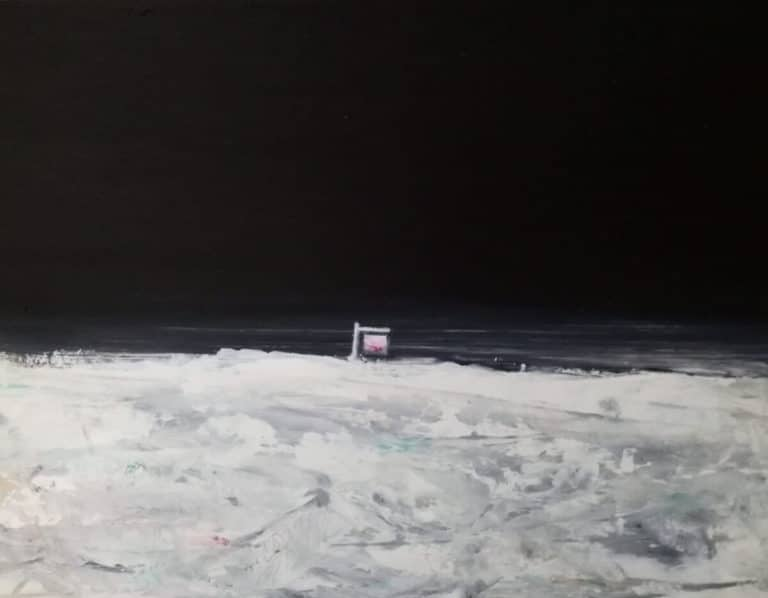Zurück und zum Mond … Jan Gemeinhardt & Gerhard Rießbeck in der Galerie Kunstkontor