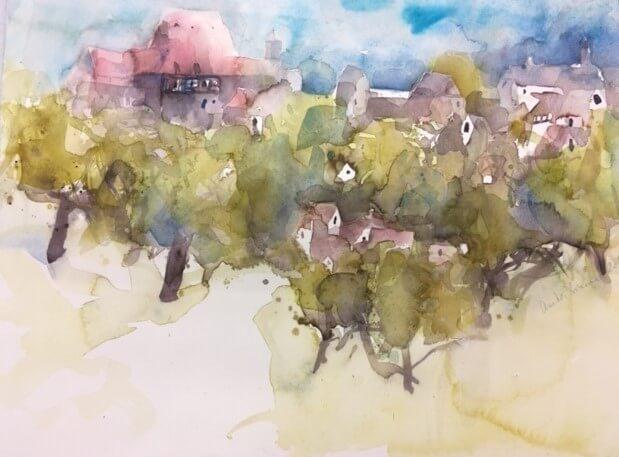 Anita Brunner: Fränkische Landschaft