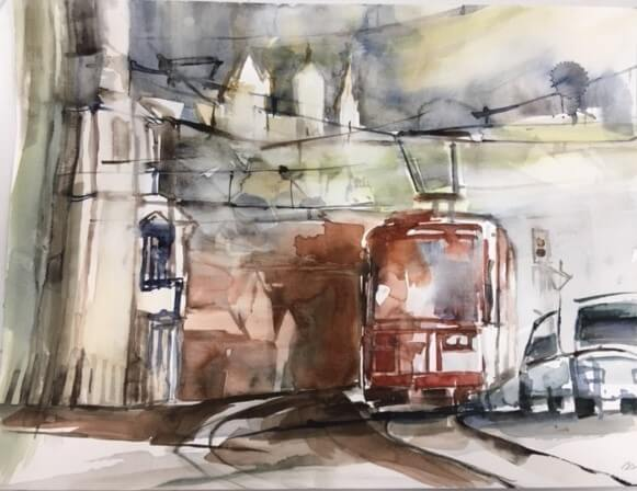 Ernst Schubert: Nürnberg Strassenbahn
