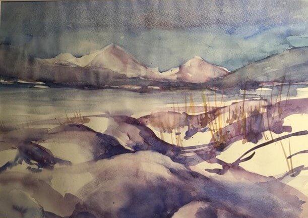 Inge Klocker: Schneelandschaft