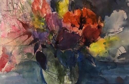 Karin Hempel: Bunte Blumen