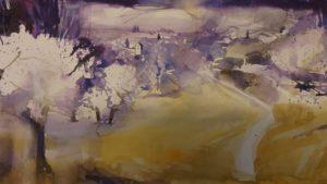 Karl Schwab: Frühling am Walberla