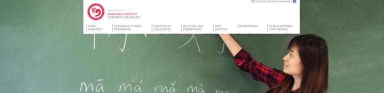 Online-Schnupperkurs Chinesisch – Konfuzius-Institut Erlangen-Nürnberg