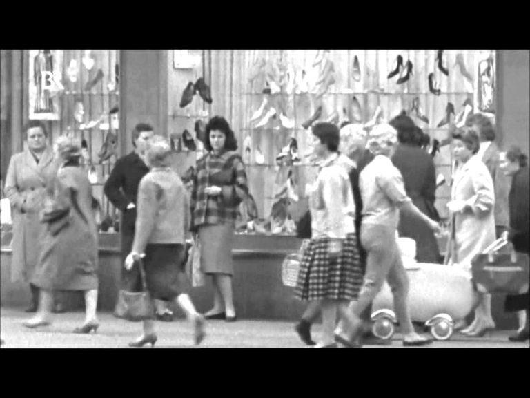 Nürnberg in alten Filmaufnahmen