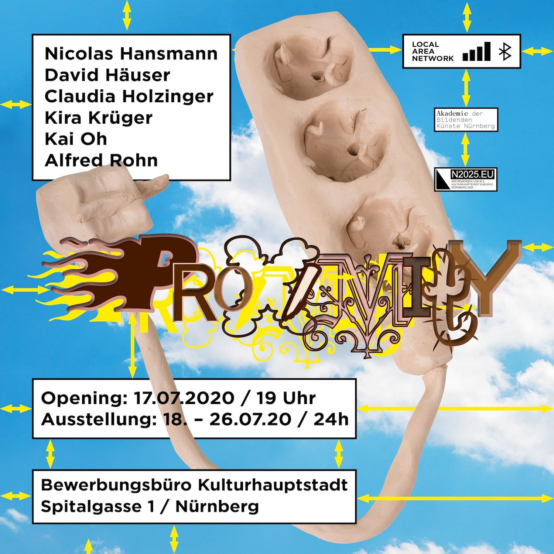 """Ausstellung """"Proximity"""" im Bewerbungsbüro Kulturhauptstadt 2025"""