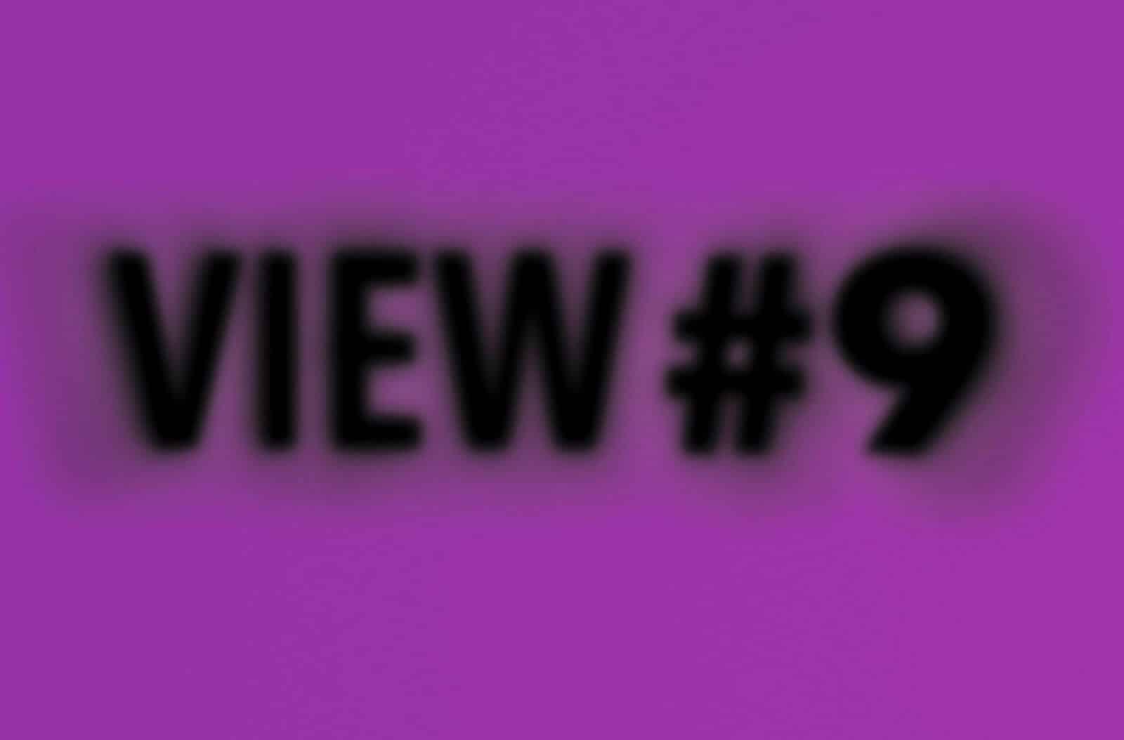 Titelbild VIEW #9