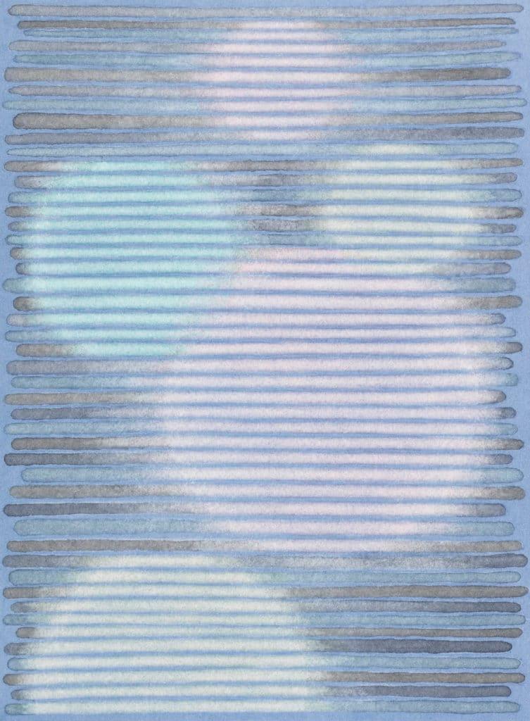 Andreas Oehlert, lichten 5, 19 x 14 cm, Aquarell, 2020, , Foto: Annette Kradisch