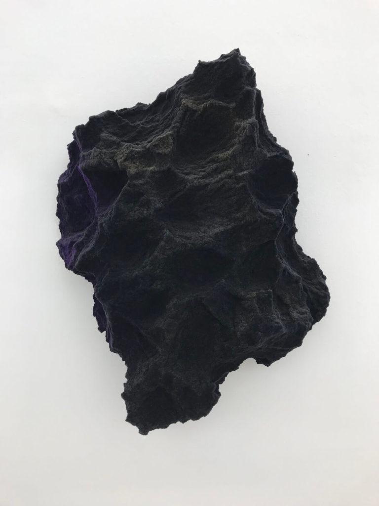 Minor Alexander, nigrum aurum, 94x80 cm, Mischtechnik