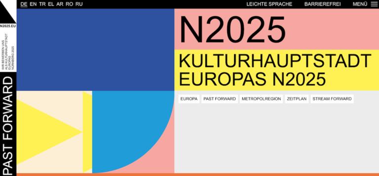 PAST FORWARD – Nürnbergs Bewerbung zur Kulturhauptstadt Europas 2025