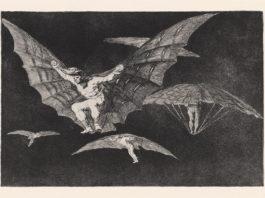 Goya_Blatt 13, Los Disparates, © Museum Lothar Fischer