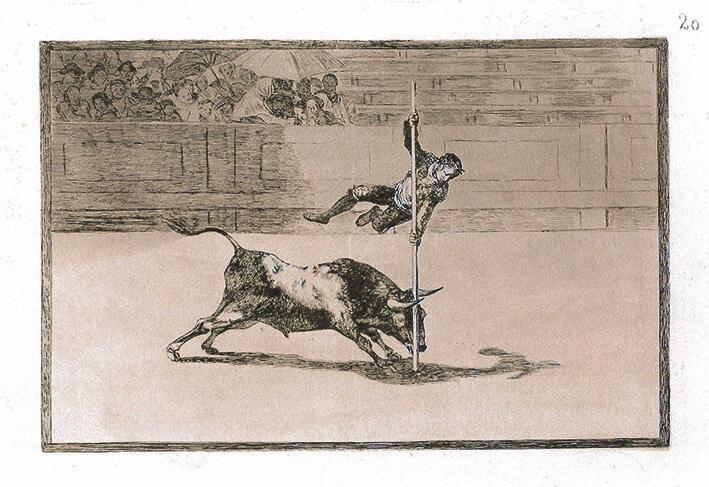 Goya_Blatt 20, La Tauromaquia, © Museum Lothar Fischer