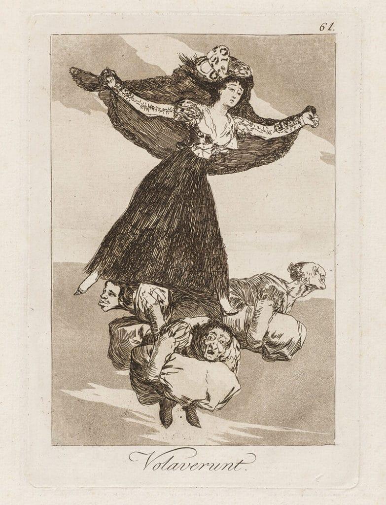 Goya_Blatt 61, Los Caprichos, © Museum Lothar Fischer