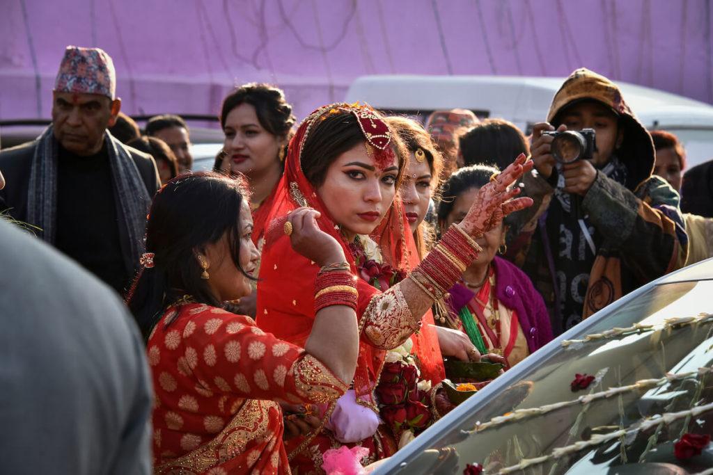 Hochzeit, Lalitpur © Janina Baumbauer