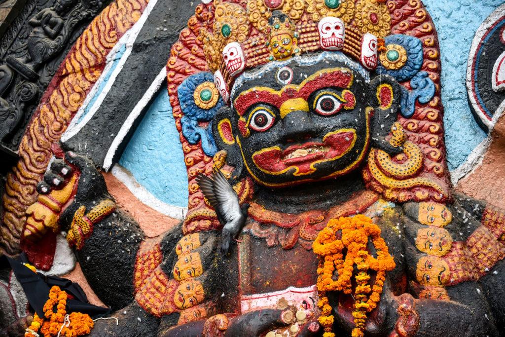 Kaal Bhairav, Basantapur Square © Janina Baumbauer