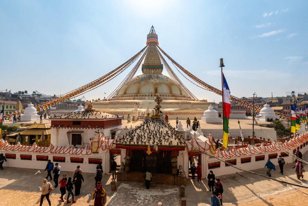 Boudhanath Stupa, Kathmandu © Julian Wirth