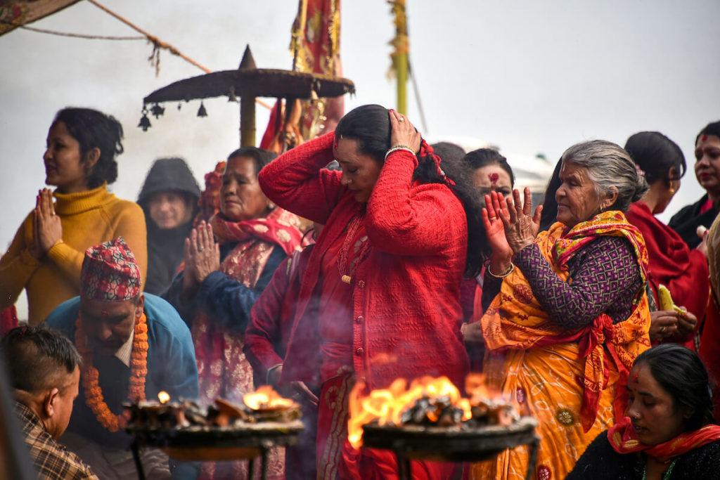 Puja, Shree Santaneshwor Mahadev Mandir © Janina Baumbauer