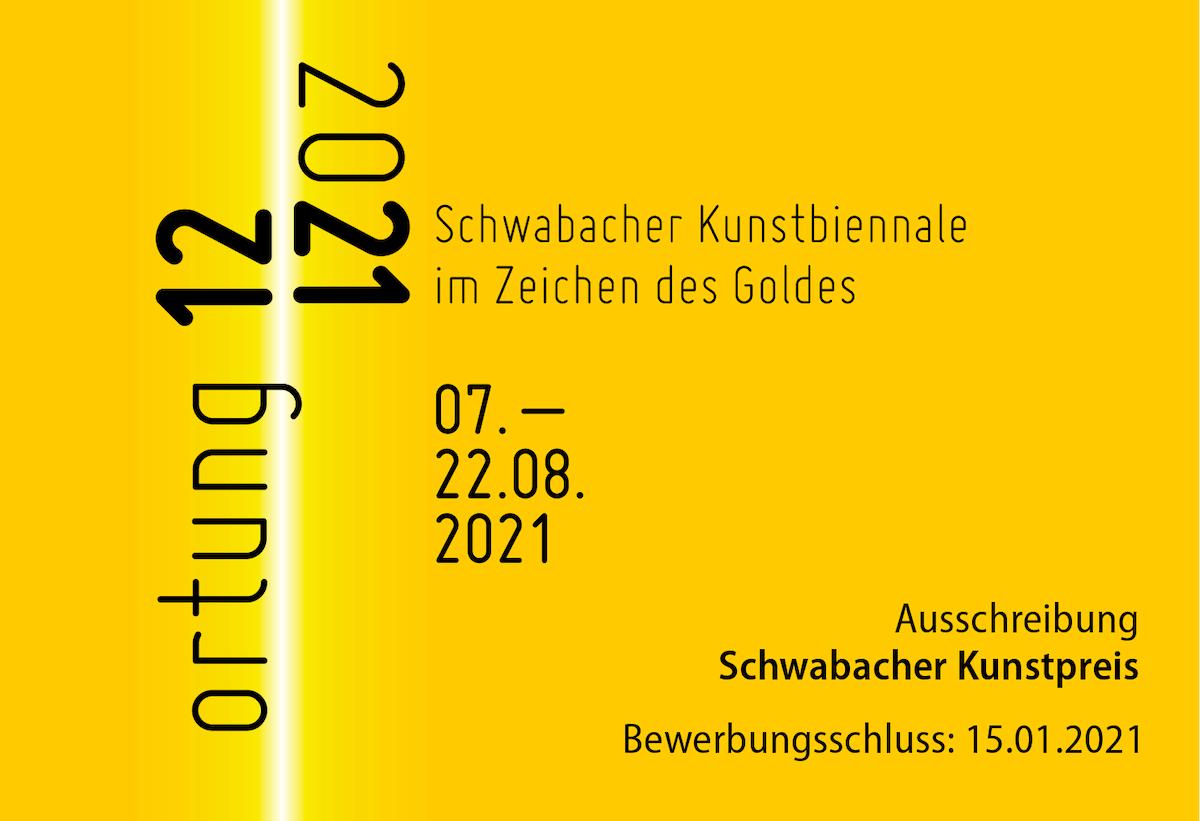 """Ausschreibung für """"ortung 12"""" in Schwabach"""