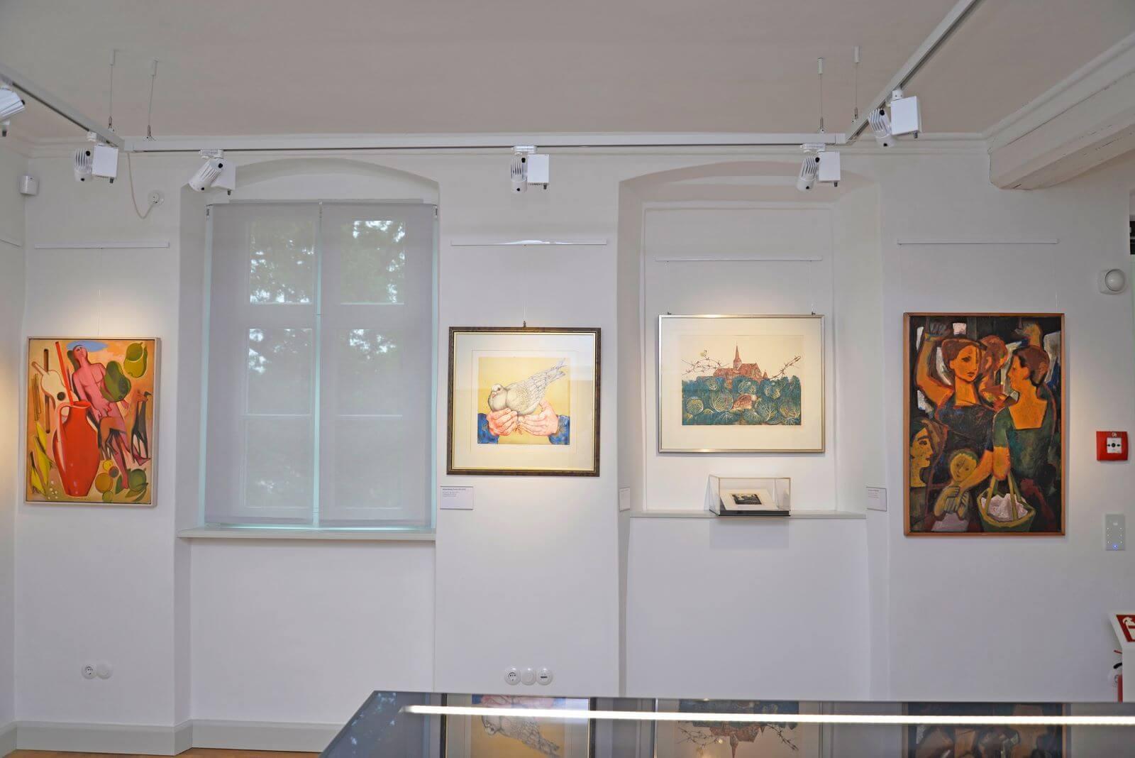 Generationen künstlerischen Schaffens. 120 Jahre Kunst aus Nürnberg, Weißes Schloss Heroldsberg, 17.09.2021-8.5.2022